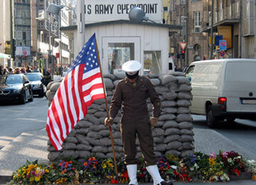 Checkpoint Charlie MuseumBerlin School trip