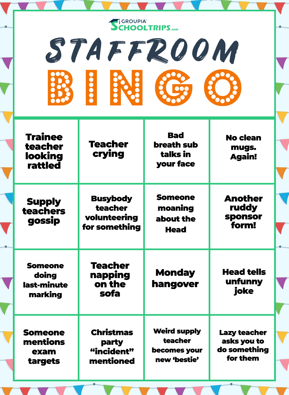 Groupia Bingo Game