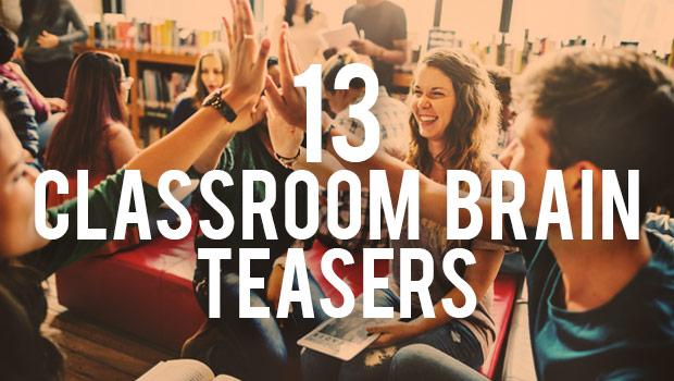 13 brain teasers