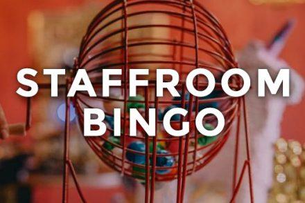 Staffroom Bingo