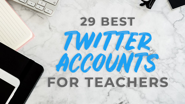 29 Best Twitter Accounts for Teachers to Follow